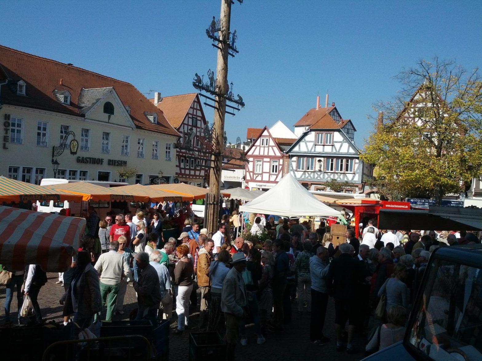 Markttag in Seligenstadt